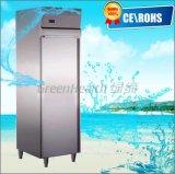 Установка вертикального холодильник кухонного оборудования из нержавеющей стали, кухня морозильной камере