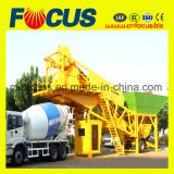 Planta móvil concreta de la mezcla de hormigón de la planta Yhzs75 de la capacidad grande