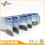 ISO ISO14443A определяет размер карточку дела RFID бумажную для билета парка