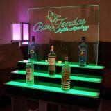 Affichage professionnel acrylique LED, porte-vin