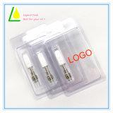 Saft Cbd Öl Vape Feder-Glaskassetten-keramischer Ring-Zerstäuber e-flüssige E