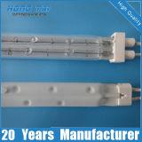 Calefactor rápido de halógeno de cuarzo tubo de calentador de infrarrojos