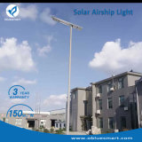 Angeschaltener LED-Solarstraßen-Garten, der zu im Freien beleuchtet