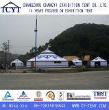 A família da estrutura de bambu Ecotypic Camping Mongolian Yurt