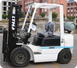 Japanischer Motor-Gabelstapler 2ton Gasoline/LPG verdoppeln Kraftstoff-Gabelstapler
