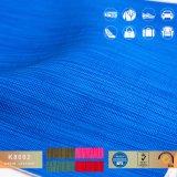 Prodotto di cuoio sintetico intessuto reticolo di tela del PVC di sguardo per il sofà o l'automobile
