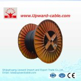 Einkerniger Aluminiumkern XLPE isolierte Kurbelgehäuse-Belüftung umhülltes Energien-Kabel 0.6/1kv