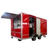 Nouveau produit, remorque mobile de nourriture de qualité, nourriture Van