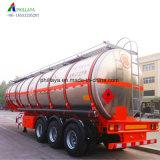 45000litros em aço inoxidável de alumínio petroleiro Semi-Trailer caminhão tanque de combustível