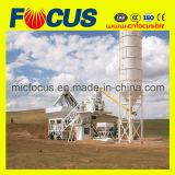 Funzionamento automatico dalla pianta d'ammucchiamento concreta mobile del PLC Yhzs50/60