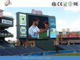 Pantalla LED de color al aire libre la publicidad muestra clasificaciones