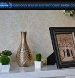 Vaso di fiore di vetro della cristalleria decorativa domestica operata