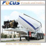 de la colle 42m3 de camion-citerne remorque en bloc verticale semi
