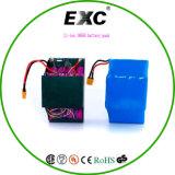 Блок батарей самоката, блок батарей Lithiumbattery Li-иона 25p 18650 для колеса 2
