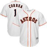 人の女性の子供アメリカリーグヒューストン1 Astros Correa野球のジャージ