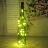 La cadena decorativa de la barra LED enciende las botellas de vino de Lumious