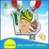 De vrije Medaille van het Metaal van de Sport van het Ontwerp met Tien Yesrs van de Ervaring van de Productie