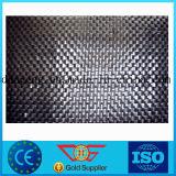Geotêxtil tecido Polypropylene da película da régua