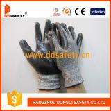 Bestand Handschoen van de Besnoeiing van Ddsafety de Zwarte Nitril Met een laag bedekte