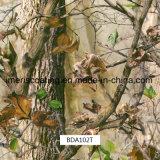 自動モーターバイクおよび外側の使用(BDA101T)のための葉のCamo実質の3D立方Dippigのフィルム