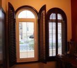 2018 Topo prático moderno elegante cor vitrais Plantation persianas da janela