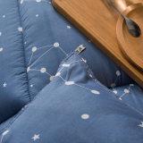 Impresso em microfibra de poliéster têxtil inicial Consolador Extras colcha de retalhos de Ajuste