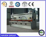 Machine de tonte QC12K-20X6000 de massicot hydraulique de commande numérique par ordinateur