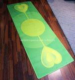 Tapete de ioga de exercício de Pilates de 3mm com design impresso com boa almofada