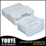 22 разъем Molex агрегата провода Pin 600V 105c белый