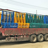한세트 유리제 공장을%s 강철 물자 선반 유리제 선반 L 모양 선반 저장과 수송