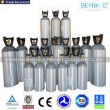 DOT3al nahtloser Aluminiumstandardzylinder für Sauerstoff CO2 Gas