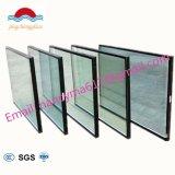 緩和された絶縁された低いE構築ガラス