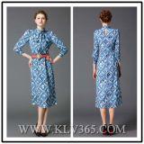 Платье партии самого последнего способа женщин конструкции роскошное шикарное длиннее