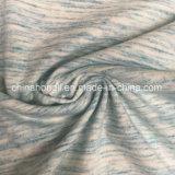Spazio-Tingere la singola Jersey C/P/Sp 60/35/5, 200GSM, lavorante a maglia il tessuto per la maglietta