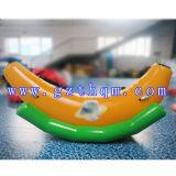 Personalizar el parque acuático inflable Banana Boat / alta calidad de la diversión de agua del deporte inflables Flying plátanos