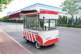 De elektrische Vrachtwagen van het Snelle Voedsel met Facultatieve Apparatuur
