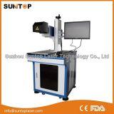 Máquina de la cavadura del laser para la etiqueta de plástico de la máquina de la cavadura del metal/del laser del metal/del laser de la fibra