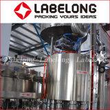 Macchinario di materiale da otturazione scintillante gassoso automatico di imbottigliamento di acqua della bevanda della bottiglia di vetro