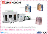 3 complètement automatiques machine dimensionnelle Zx-Lt400 de fabrication du sac