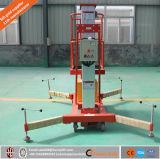 Платформа подъема работы /Aerial таблицы гидровлического подъема подъема одиночного рангоута алюминиевая