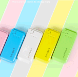 USB Portable Charger Travel Charger 4000mAh met Flashlight