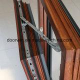 Finestra di legno di quercia con rivestimento di alluminio