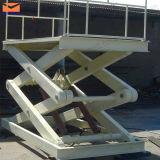 Het hydraulische Platform van de Lift van de Schaar in Pakhuis