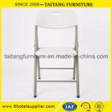 Silla plástica blanca plegable china del precio de fábrica