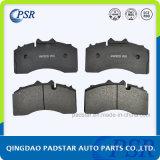 Almofada de freio de aço Semi-Metallic do caminhão do barramento do elevado desempenho