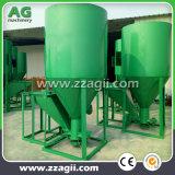 China 1000kg/h comunidad utilizan piensos máquina mezcladora vertical para las granjas