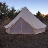 快適なキャンバスの防水サファリのキャンプテント