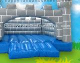 Надувной замок тема Bouncer серого цвета могут быть настроены