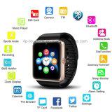 SIMのカードスロットGt08が付いているBluetoothの最も安い腕時計のスマートな腕時計