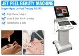 Máquina facial da casca do jato do oxigênio para o rejuvenescimento da pele/remoção do enrugamento
